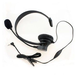 Icella H UNI OPR Over the head   Operator style   2.5mm Boom Mic Headset   Electronics Headsets