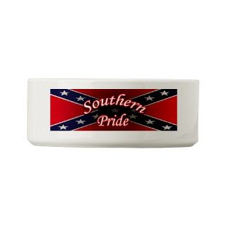 Southern Pride bumper sticker Small Pet Bowl by Admin_CP16264685