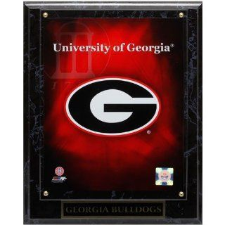 NCAA Georgia Bulldogs 10.5'' x 13'' Team Logo Plaque   Panoramic Frames