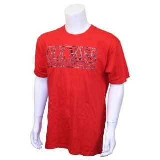 Ole Miss Rebels T Shirt Red with Camo Letters (Large) : Sports Fan T Shirts : Sports & Outdoors