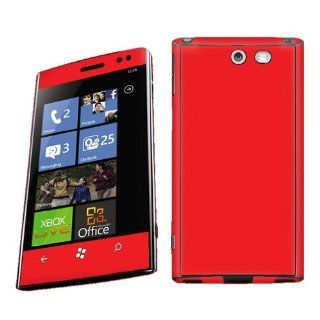 Hot Red Vinyl Case Decal Skin To Cover Your Dell Venue Pro AT&T & T Mobile: Everything Else
