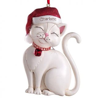 Personal Creations Santa Cat Ornament