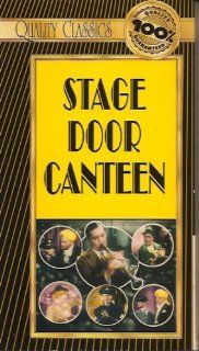 Stage Door Canteen   Video Film Classics: William Terry, Marjorie Riordan, Lon McAllister Cheryl Walker, walk ons, speeches and musical numbers by stars and celebrities such as Katherine Hepburn, Harpo Marx, Helen Hayes, George Raft, Ethel Merman and many