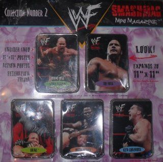 Smashing Mini Magazine WWF Collection Number 2 : Sports Related Trading Cards : Sports & Outdoors