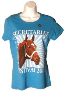 2012 Secretariat Festival Ladies T Shirt   Horse Racing Fan Shop Offering (Small)