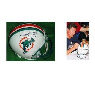 Dan Marino Signed Riddell Miami Dolphins Helmet! With Picture, COA: Sports Collectibles