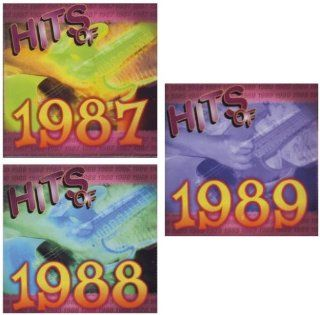 Hits of 1987, 1988, 1989 [[[30 SONG / 3 DISC SET]]] Dan Hill / Surface / Europe / Gregory Abbott / Lisa Lisa and Cult Jam / Dead or Alive / Eddie Money / Luther Vandross / Hipsway / The Bangles / Will to Power / Cyndi Lauper / Teena Marie / Terence Trent D