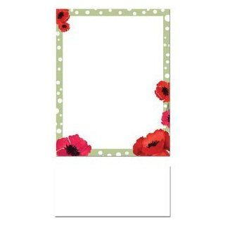 200 Dotted Green Border and Red Poppies Letterhead Sheets and 200 White Envelopes: Everything Else