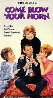 Come Blow Your Horn [VHS]: Frank Sinatra, Lee J. Cobb, Molly Picon, Barbara Rush, Jill St. John, Dan Blocker, Phyllis McGuire, Tony Bill, Phil Arnold, R.G. Brown, Mary Grace Canfield, Warren Cathcart, William H. Daniels, Bud Yorkin, Frank P. Keller, Howard