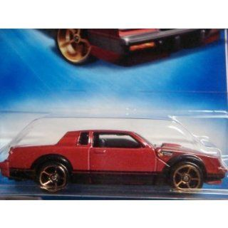 Hot Wheels Buick Grand National FTE Deep Red Black Base #131 scale 1/64 Collector: Toys & Games