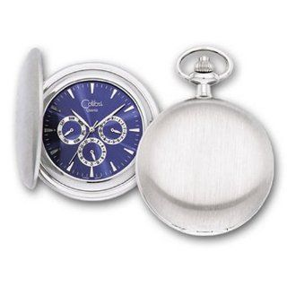 Colibri Starliner Collection Pocket Watch with Key Chain Set PWQ097622S: Watches
