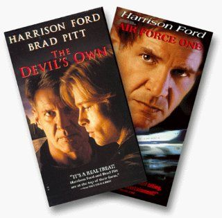 Air Force One/The Devil's Own [VHS]: Harrison Ford, Brad Pitt, Margaret Colin, Rub�n Blades, Treat Williams, George Hearn, Mitch Ryan, Natascha McElhone, Paul Ronan, Simon Jones, Julia Stiles, Ashley Carin, Kelly Singer, David O'Hara, David Wilmot,
