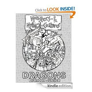 Blanco y Negro   Monstruos y Criaturas M�ticas    Dragones (Spanish Edition) eBook: Brandon Justicia: Kindle Store