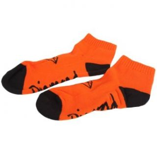 Diamond Supply Co.   OG Low Cut Socks in Orange/Black, Size: O/S, Color: Orange/Black at  Men�s Clothing store