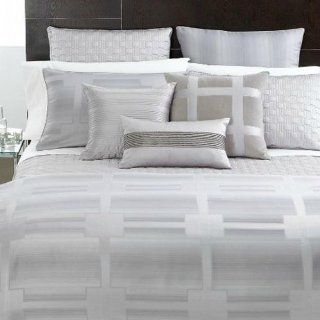 Hotel Collection Bedding, Meridian Quartz Euro Sham   Pillow Shams