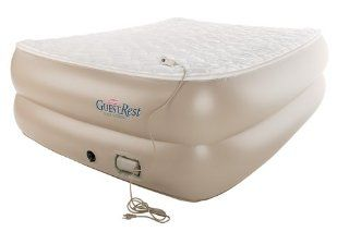 Coleman Full Raised GuestRest Airbed: Sports & Outdoors