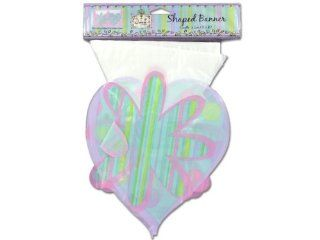 &Quot;Birthday Vogue&Quot; Plastic Banner   Case of 72   Childrens Party Banners
