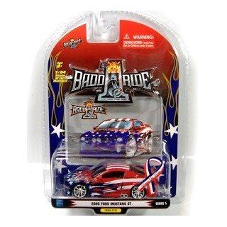 1BaddRide 2005 Ford Mustang GT Support Our Troops Series 5  Scale 1:64: Toys & Games
