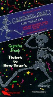 Grateful Dead: New Year's Eve [VHS]: Jerry Garcia, Mickey Hart, Bob Weir, Bill Kreutzmann, Phil Lesh, Brent Mydland, Tom Davis, Neville Brothers, David Nelson, Jack Elliot, Len Dell'Amico, Bill Weber, Jeffrey Norman, Allen Newman, Lope Yap Jr.: Mov