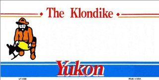 Yukon Background Blanks FLAT   Automotive License Plates Blanks for Customizing License Plates Plate Plates Tag Tags auto vehicle car front Airbrush Engrave Monogram Decal Vinyl Lettering