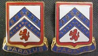 103rd Engineering Battalion Distinctive Unit Insignia   Pair Clothing