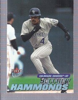 2001 Ultra #109 Jeffrey Hammonds Colorado Rockies: Sports Collectibles