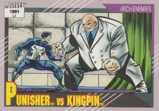 Punisher vs. Kingpin #102 (Marvel Universe Series 2 Trading Card 1991): Everything Else