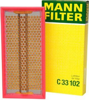 Mann Filter C 33 102 Air Filter: Automotive
