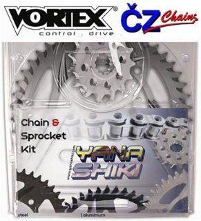 YANA SHIKI YANASHIKI VORTEX CZ Sprocket Kit Aluminium Black Quick Acceleration HONDA CBR 1000RR 2006 2012 CSK H104 QA ALUBLK Automotive