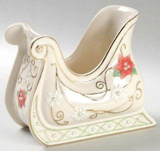 Lenox China Petals & Pearls Medium Sleigh, Fine China Dinnerware: Kitchen & Dining