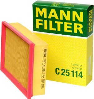 Mann Filter C 25 114 Air Filter: Automotive