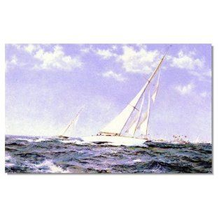 Ocean Seascape Oil Painting on Canvas Sailing Boat Big Waves Ships 122 Hand Painted Classical Fine Art for Your Home