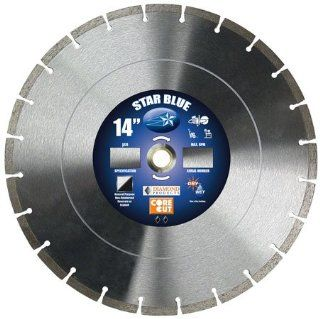 Stanley Supply Item # 14355, 14 x 0.125 x 1 Star Blue High Speed Blade for Asphalt On Stanley Supply Online: Home Improvement
