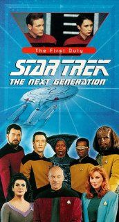 Star Trek   The Next Generation, Episode 119: The First Duty [VHS]: LeVar Burton, Gates McFadden, Gabrielle Beaumont, Robert Becker, Cliff Bole, Timothy Bond, David Carson, Chip Chalmers, Richard Compton, Robert Iscove, Winrich Kolbe, Peter Lauritson, Robe