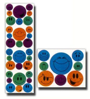 Die Cut Stickers, LDS Stickers, Assorted Smiley Faces, Assorted Colors, Package of 128  Great for Scrap booking, Card Making and Designing, and Other Craft Projects  Primary, Young Women, Young Men, Relief Society, Priesthood, Missionaries : Office Product