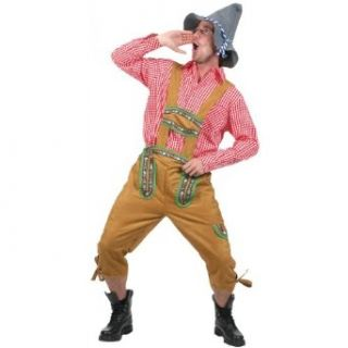 Kniebundhosen Men's Costume Adult Halloween Outfit   One Size/STD, Waist: Clothing