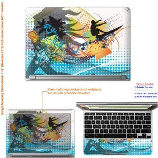 "Decalrus   Matte Decal Skin Sticker for Google Samsung Chromebook with 11.6"" screen (IMPORTANT read: Compare your laptop to IDENTIFY image on this listing for correct model) case cover Mat_Chromebook11 238: Computers & Accessories"