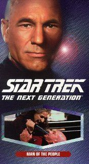Star Trek   The Next Generation, Episode 129: Man Of The People [VHS]: LeVar Burton, Gates McFadden, Gabrielle Beaumont, Robert Becker, Cliff Bole, Timothy Bond, David Carson, Chip Chalmers, Richard Compton, Robert Iscove, Winrich Kolbe, Peter Lauritson, R