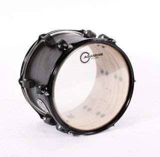 Crush Drums & Percussion Chameleon Ash Tom Trans Satin Black 886830856686: Musical Instruments