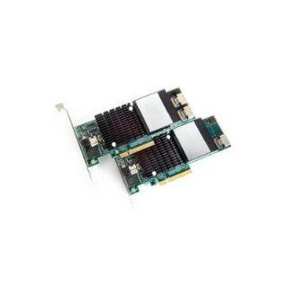 PROMISE TECHNOLOGY 5PK 3G PCIE X8 4PT INT SAS/SATA RAID CTRL 128MB: Computers & Accessories