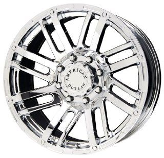"American Outlaw Spur Series Chrome Wheel (16x8""/5x135mm) Automotive"