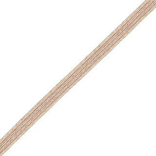 Venus Ribbon B01257 BISQUE 1/4 Inch Rayon Middy Braid, 12 Yard, Bisque: Arts, Crafts & Sewing