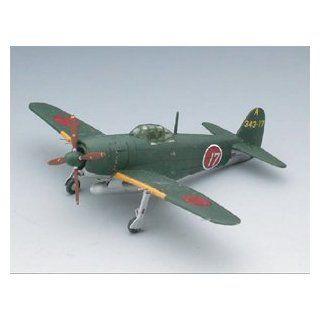 """1/144 Scale kit I.J.N Intercepter N1K2 J Shiden Kai """"343rd Naval Flying Group Matsuyama"""" 2 kit in a box Toys & Games"""