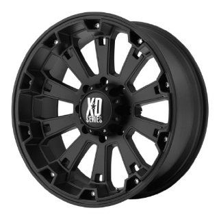 KMC XD Series Misfit (20 x 9, 5 x 139.7/5.5) 0 Offset, Matte Black, (1) Wheel/Rim: Automotive