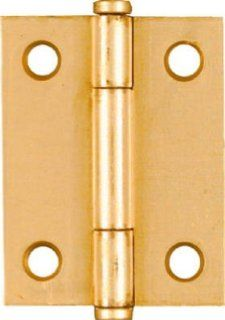 "National N146 639 Brass Cabinet Hinge   2"""