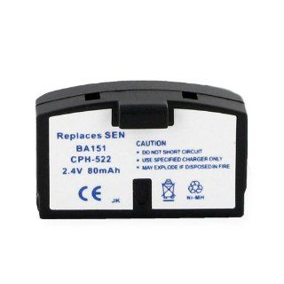Sennheiser BA151 Cordless Phone Battery 2.4 Volt, Ni MH 80mAh   Replacement For SENNHEISER BA191: Electronics