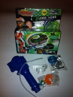 Hot Sale Newest Beyblade(leo 145wb bb30) +Invincible Launcher Grip Super Combined Toys Set Special Offer Sales Promotion: Toys & Games