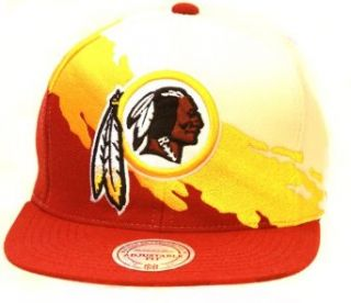 Mitchell & Ness Kansas City Chiefs NFL Snapback Hat, White/Red/Yellow + GT Sweat Wristband: Clothing