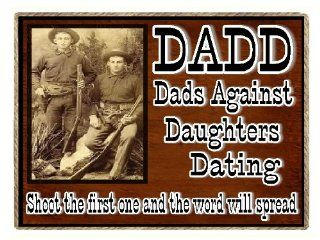 Dad Country Gifts Refrigerator Magnets DADD  Western Dads Against Daughters Dating: Kitchen & Dining