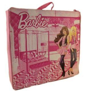 Barbie Store And Play Bedroom Style Doll Canvas Doll CAse: Toys & Games